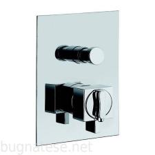 Bugnatese Tetris fal alatti váltós termosztátos zuhanycsaptelep, króm, 9178CR csaptelep