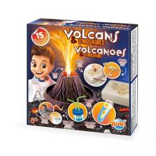 BUKI Kísérletező készlet Vulkánok és dinók BUKI kreatív és készségfejlesztő