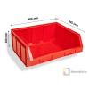 BULL 4/D MH BOX piros