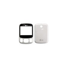 C320 előlap és hátlap fehér mobiltelefon előlap