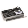 C.Josef Lamy GmbH LAMY joy AL szett (Joy töltőtoll 1,1mm,1,5mm,1,9mm heggyel+5 tinta) ezüst dobozban 11