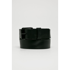 Calvin Klein Jeans - Bőr öv - fekete - 1370080-fekete