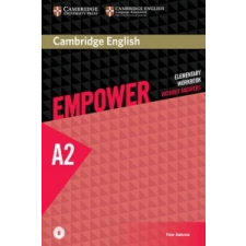 Cambridge English Empower Elementary Workbook without Answers with Downloadable Audio – Peter Anderson idegen nyelvű könyv