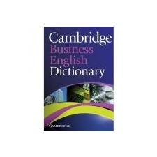 CAMBRIDGE UNIV ELT CAMBRIDGE BUSINESS ENGLISH DICTIONARY idegen nyelvű könyv