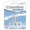Camelion akku típus LR03 AlwaysReady 2db/csom. 800mAh