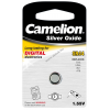 Camelion ezüstoxid-gombelem óraelem SR44 / G13 / 357 1db/csom.