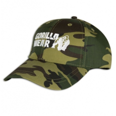 CAMOUFLAGE CAP (GREEN/CAMO) [Egy Méret]