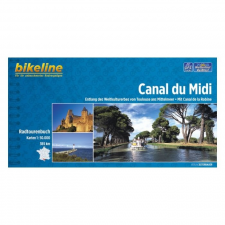 Canal du Midi kerékpárkalauz térkép