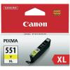 Canon CLI-551 XL Y sárga eredeti patron