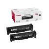 Canon CRG-718B Lézertoner i-SENSYS LBP 7200CDN, MF 8330 nyomtatókhoz, CANON fekete, 2*3,4k