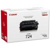 Canon CRG 724 fekete eredeti toner