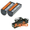 Canon NB-CP2L utángyártott akkumulátor Selphy nyomtatóhoz és LCA0010 Selphy töltő kit a Jupiotól...