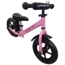 """Capetan® Energy Plus Pink színű 12"""" kerekű futóbicikli sárhányóval és csengővel - pedál nélküli gyer pedál"""