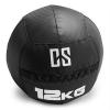 Capital Sports CAPITAL SPORTS Bravor Wall Ball medicinlabda, PVC, dupla varrások, 12kg, fekete