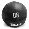 Capital Sports CAPITAL SPORTS Bravor Wall Ball medicinlabda, PVC, dupla varrások, 3kg, fekete