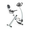 Capital Sports CAPITAL SPORTS Trajector, bicikli – otthoni tréner, X-bike, háttámla, ülőketartó, összecsukható, 110 kg
