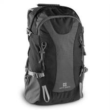 Capital Sports CS 38 szabadidő- és turisztikai hátizsák, 38 liter, vízlepergető nylon, fekete fitness eszköz