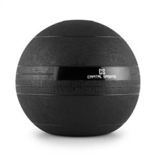 Capital Sports Groundcracker, fekete, 25 kg, slamball, gumi medicinlabda