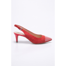Caprice - Sarkas cipő - piros