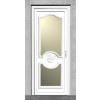 CARDIFF 3 Műanyag bejárati ajtó 90x210 cm