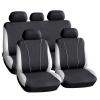 CARGUARD Autós üléshuzat szett - szürke / fekete - 9 db-os - HSA003 (Autós üléshuzat szett)