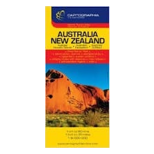Cartographia Ausztrália, Új-Zéland térkép Cartographia térkép