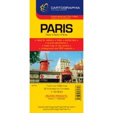 CARTOGRAPHIA KFT / BIZO. Párizs várostérkép térkép
