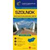 Cartographia Szolnok várostérkép (+Jász-Nagykun-Szolnok megye tkp.)