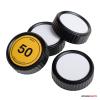 Caruba objektív hátsó sapka szett matricával Nikon objektívekhez
