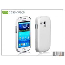 CASE-MATE Samsung i8190 Galaxy S III Mini hátlap - Case-Mate Barely There - white tok és táska