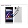 CASE-MATE Sony Xperia Z1 (C6903) hátlap - Case-Mate Barely There - white