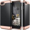 CASEOLOGY Caseology iPhone 7 (4.7'') Savoy Series hátlap, tok, fekete