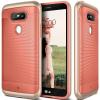 CASEOLOGY LG G5 Wavelength Series hátlap, tok, korall vörös