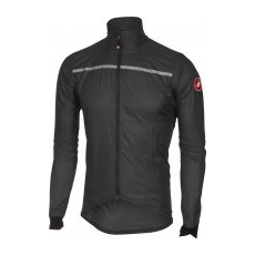 Castelli Superleggera Jacket Anthracite/Yellow Fluo XL