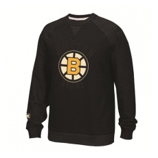 CCM Boston Bruins Pulóver Fleece Crew 2016 - S,(EU)