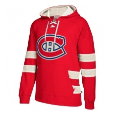 CCM Montreal Canadiens FĂŠrfi pulóver 2017 CCM Jersey Pullover Hoodie Red - XL