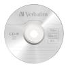 CD-R Verbatim DL+ 80min BOX Crystal