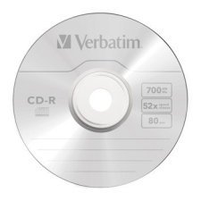 CD-R Verbatim DL+ 80min BOX Crystal nyomtató kellék