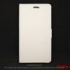 CELLECT Galaxy S8 oldalra nyíló tok, fehér