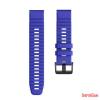 CELLECT Garmin Fenix 6S/5S szilikon óraszíj 20 mm, Kék