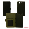 CELLECT Huawei P8 Lite flip oldalra nyiló tok+tartó,Fekete