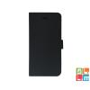 CELLECT Microsoft Lumia 650 Flip oldlara nyiló tok, Fekete