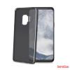 CELLECT Samsung Galaxy S9+ vékony szilikon tok, Fekete