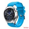 CELLECT Samsung Gear S3 szilikon óraszíj, Világoskék