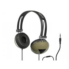CELLECT SBS sztereó fejhallgató, 3.5 jack mikrofonnal, fekete fülhallgató, fejhallgató
