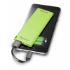 CELLULARLINE FreePower Slim 3000 mAh powerbank - zöld