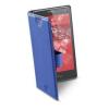 CELLULARLINE Tok, BOOK CASE, univerzális könyvszerűen nyitható tok, XL méret, kék
