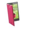 CELLULARLINE Tok, BOOK CASE, univerzális könyvszerűen nyitható tok, XXL méret, rózsaszín