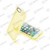 CELLULARLINE Tok, CLEAR COLOR mobiltelefonhoz, kemény műanyag, Iphone 7, Sárga