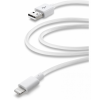 CELLULARLINE USB - Lightning kábel - 2m - fehér